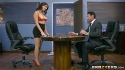 valentina nappi gets a hardcore office fucking brazzers