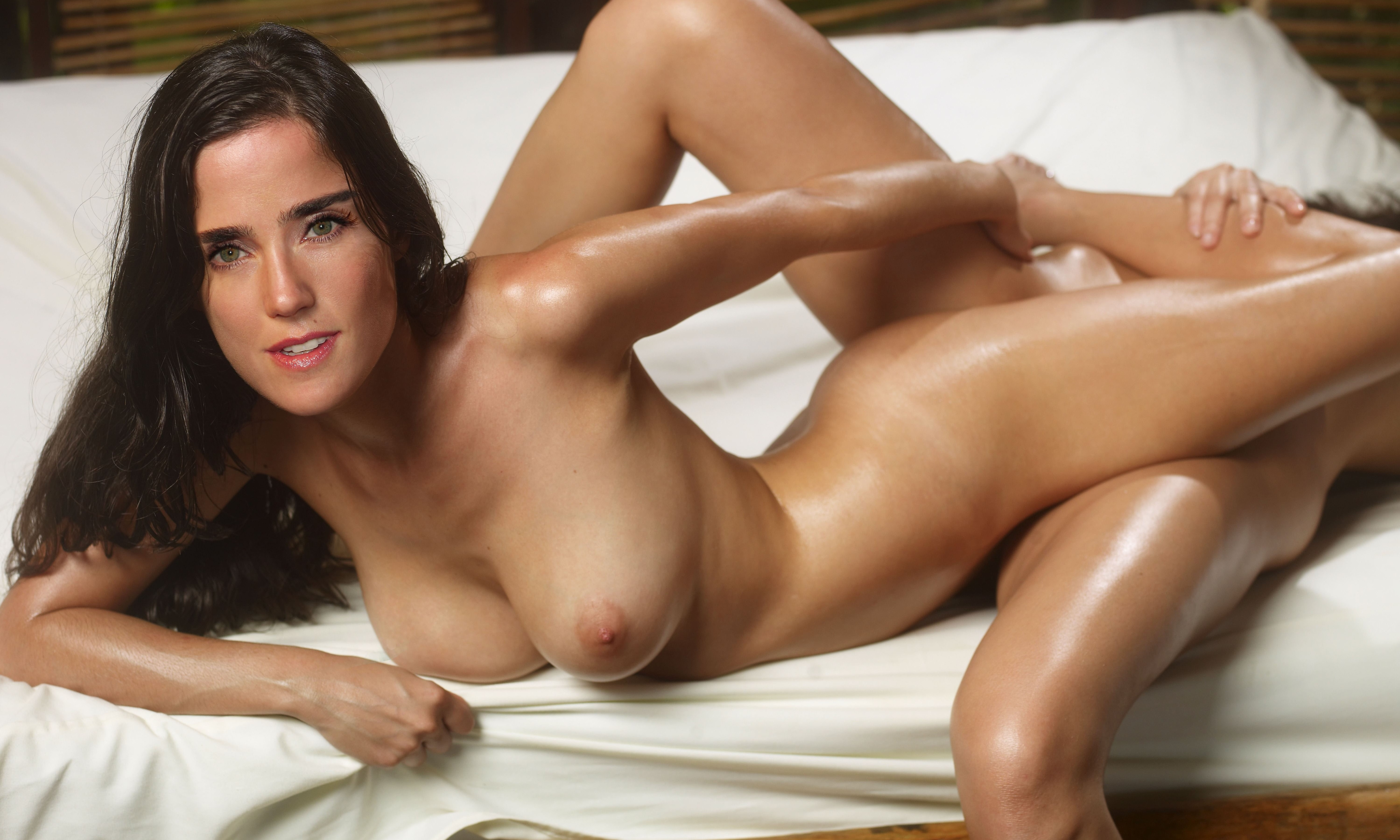 wallpaper jennifer connelly brunette american actress