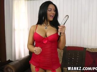 wankz bella reese enjoys playing hard with herself