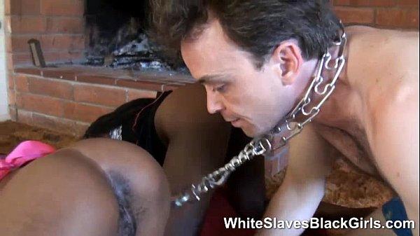 Black Girl Swallows White Guy