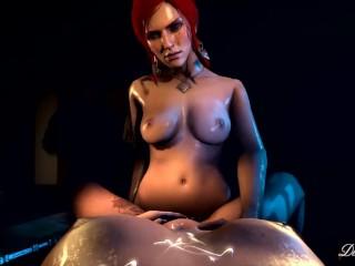 Triss merigold cosplay nude